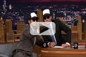 VIDEO: OF MICE AND MEN Star James Franco Talks Taking Selfies at Stage Door on 'Tonight'