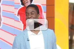 VIDEO: Chadwick Boseman Shares Challenges of Playing James Brown in GET ON UP Biopic