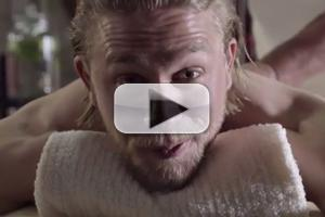 VIDEO: SONS OF ANARCHY's Charlie Hunnam Explains Why He Missed Comic Con!