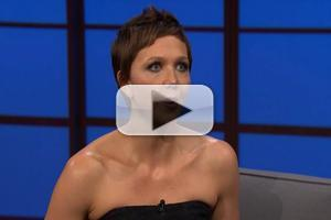 VIDEO: Maggie Gyllenhaal Talks New Miniseries 'Honorable Woman' on LATE NIGHT