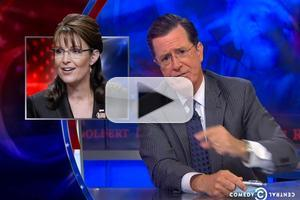 VIDEO: Stephen Opines on The Sarah Palin Channel on COLBERT REPORT