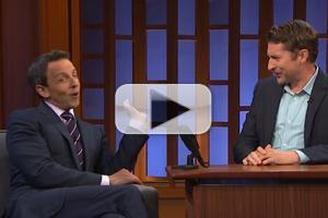 VIDEO: Scott Aukerman Takes Over the LATE NIGHT Desk from Seth Meyers