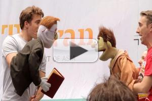 BWW TV: AVENUE Q Cast Stirs up Broadway in Bryant Park!