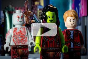 VIDEO: YouTuber Recreates GUARDIANS OF THE GALAXY Trailer in Lego Form