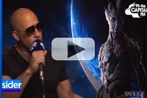 VIDEO: GUARDIANS OF THE GALAXY Star Vin Diesel Covers Sam Smith's 'Stay With Me'