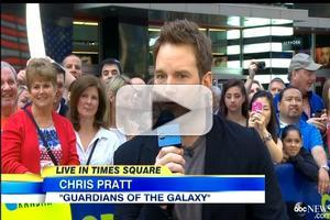 VIDEO: Chris Pratt Wants to Make GUARDIANS Character a Role Model for Kids