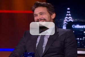 VIDEO: James Franco Talks New Film 'Child of God' on COLBERT