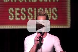 STAGE TUBE: Frankie James Grande Channels Ricky Martin, Sings from EVITA at BROADWAY SESSIONS