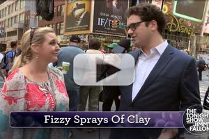 VIDEO: TONIGHT SHOW Asks New Yorkers About '50 Shades of GRAPE' Trailer