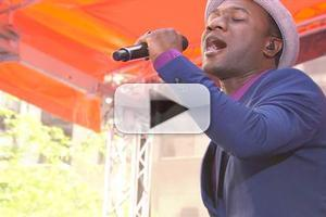 VIDEO: Aloe Blacc Performs 'The Man' on NBC's TODAY