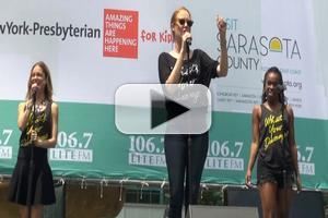 BWW TV: HEATHERS Company Shines a Light at BROADWAY IN BRYANT PARK!
