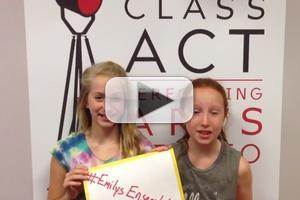 STAGE TUBE: Broadway Stars Join Forces in Support of Emily's Ensemble