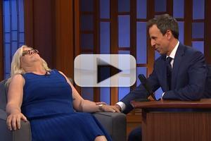 VIDEO: SNL Writer Paula Pell Visits LATE NIGHT WITH SETH MEYERS