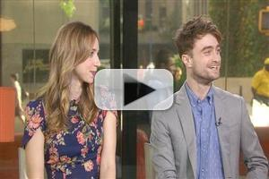 VIDEO: Daniel Radcliffe, Zoe Kazan Talk New Romantic Comedy WHAT IF on 'Today'