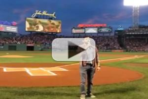 VIDEO: Jeremy Jordan Hits One Out of the Park with National Anthem Performance!