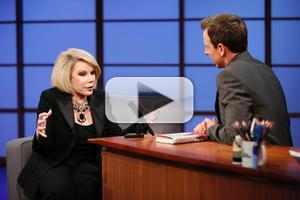 VIDEO: Joan Rivers Chats New Book & More on LATE NIGHT