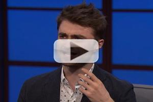 VIDEO: Daniel Radcliffe Talks Cameo as a NYC Dog Walker & More on LATE NIGHT