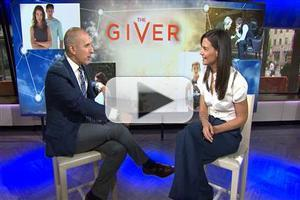 VIDEO: Katie Holmes Talks New Film 'The Giver' on TODAY