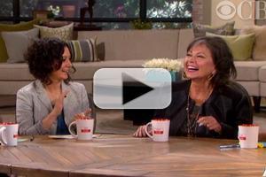 VIDEO: Roseanne Barr Reunites w/ 'Roseanne' Co-Star Sara Gilbert on THE TALK
