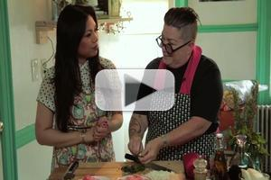 VIDEO: Lea DeLaria and Darling Din in the Premiere Episode of BK BEATS & EATS