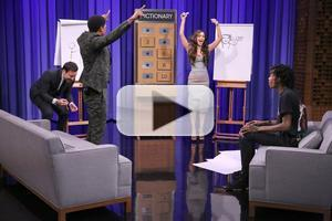 VIDEO: Nick Cannon, Megan Fox & Wiz Khalifa Play Pictionary on TONIGHT SHOW
