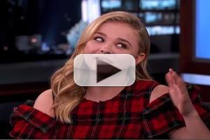 VIDEO: Chloe Grace Moretz Talks Musical Skills & More on JIMMY KIMMEL