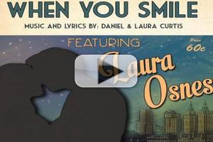 AUDIO: Laura Osnes Sings Daniel and Laura Curtis' 'When You Smile'; Single Released Today!