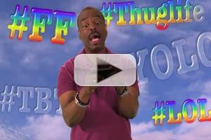 VIDEO: Levar Burton Plugs '@Tweeting Rainbow' on JIMMY KIMMEL LIVE!