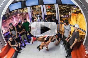 VIDEO: Epic B-Boy Battle on the Tallest Ferris Wheel in the World - The High Roller in Las Vegas