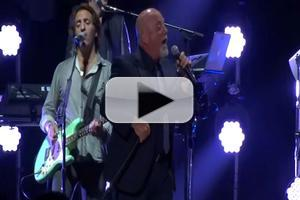 VIDEO: Billy Joel Serenades Crowd, Christie Brinkley, with 'Uptown Girl' at Madison Square Garden