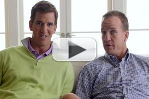 VIDEO: Peyton & Eli Manning Rap Their Way Through FANTASY FOOTBALL DREAM WORLD