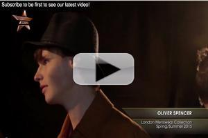 VIDEO: Backstage at Oliver Spencer London Menswear Collection