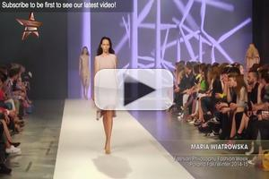VIDEO: Maria Wiatrowska Poland Fashion Week F/W 2014