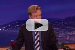 VIDEO: Conan O'Brien Reacts On-Air to News of Robin Williams Passing