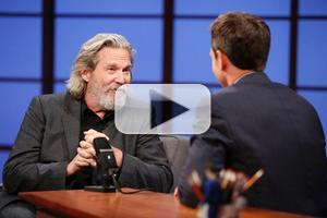VIDEO: Jeff Bridges Talks New Film 'The Giver' on LATE NIGHT