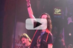 BWW TV: Constantine Maroulis Returns Home to ROCK OF AGES- Watch His First Curtain Call Back!