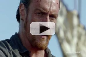 VIDEO: 'Black is Back'! Watch First Trailer for Season 2 of Starz's BLACK SAILS