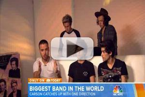 VIDEO: One Direction Discuss Their Rise to the Top on TODAY
