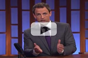 VIDEO: Seth Meyers Pays Tribute to Robin Williams on LATE NIGHT