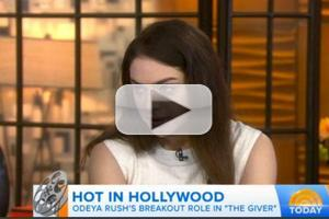 VIDEO: Odeya Rush Talks Starring Alongside Meryl Streep in THE GIVER