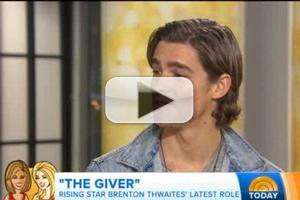 VIDEO: Brenton Thwaites Talks 'Powerful Message' of New Film THE GIVER