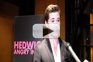 BWW TV: There's a New HEDWIG in Town! Andrew Rannells Meets the Press!