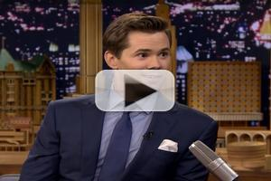 VIDEO: HEDWIG's Andrew Rannells Channels Hugh Jackman on Tonight Show!
