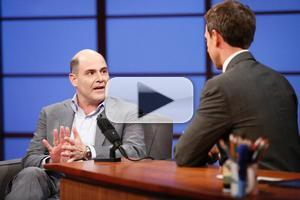 VIDEO: Matthew Weiner Talks New Film 'Are You Here' on LATE NIGHT