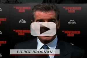 VIDEO: Pierce Brosnan Reacts to Passing of 'Mrs. Doubtfire' Co-Star Robin Williams