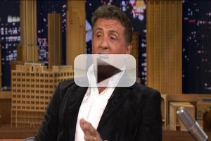 VIDEO: Sylvester Stallone Talks Starring in Risque Off-Broadway Play on TONIGHT SHOW