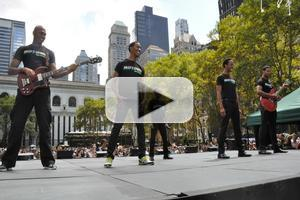 BWW TV: MOTOWN Cast Takes Bryant Park Back in Time!