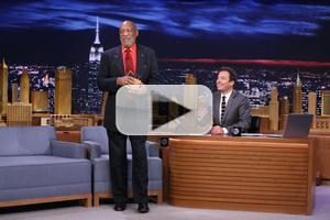 VIDEO: Bill Cosby Confronts Jimmy Fallon About Imitating Him on TONIGHT