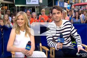 VIDEO: Chloe Grace Moretz & Jamie Blackley Talk New Film 'If I Stay' on GMA