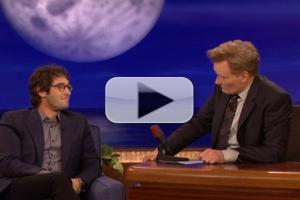 VIDEO: Josh Groban Shares Singing Tips for CONAN's Upcoming Live Performance